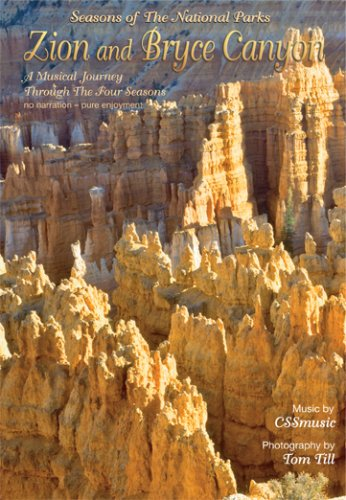Zion and Bryce Canyon - Seasons of The National Parks DVD Image