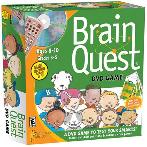 Brain Quest DVD Game DVD Image