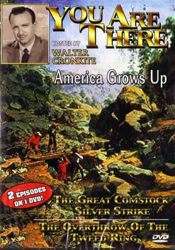 You Are There: America Grows Up DVD Image