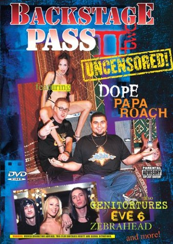 Backstage Pass Uncensored, Vol. 2 DVD Image