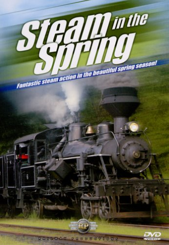 America's Steam Trains: Steam In The Spring DVD Image
