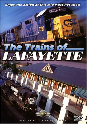 The Trains of Lafayette DVD Image