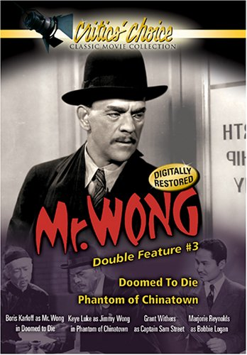Mr. Wong Double Feature #3: Doomed To Die / Phantom Of Chinatown DVD Image