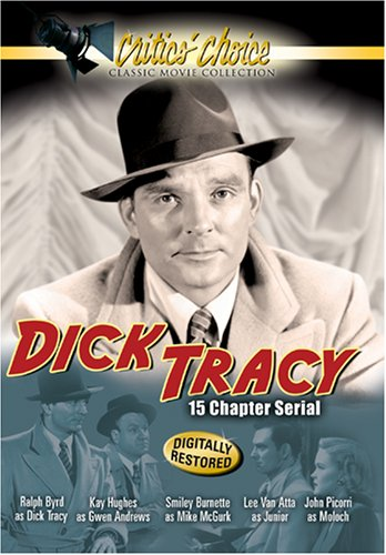 Dick Tracy (1937/ Serial/ Critics' Choice): The Serial DVD Image