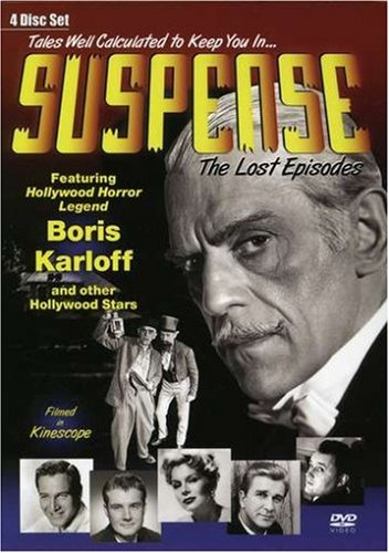 Suspense: The Lost Episodes Collection, Vol. 1 DVD Image