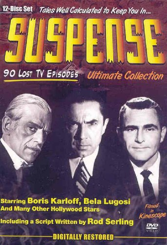 Suspense: The Lost Episodes - Collections 1-3 DVD Image