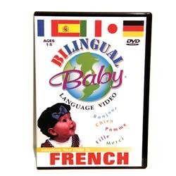 Bilingual Baby: French DVD Image