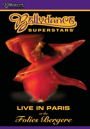 Bellydance Superstars Live in Paris at the Folies Bergere DVD Image