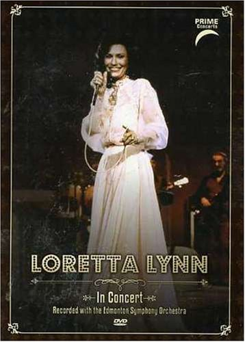 Loretta Lynn: Prime Concerts With Edmonton Sym Orchestra DVD Image
