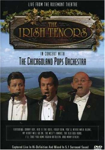 Irish Tenors: In Concert With The Chicagoland Orchestra DVD Image