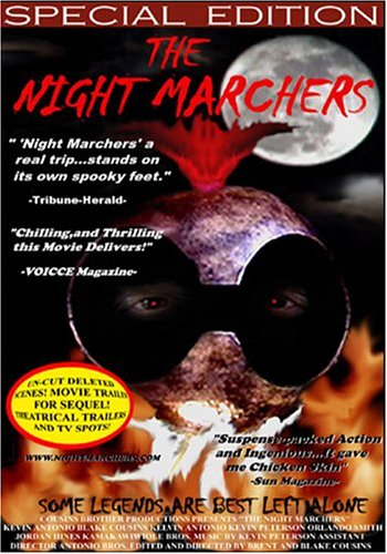 The Night Marchers DVD Image