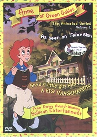 Anne of Green Gables The Animated Series, Vol. 2 - The Sleeves / Butterflies DVD Image