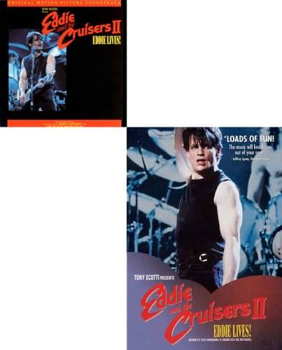 Eddie and the Cruisers II: Eddie Lives! and Original Motion Picture SoundTrack (2 Pack) DVD plus Music CD DVD Image