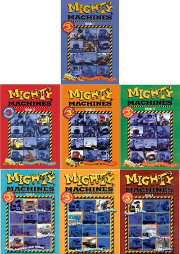 Mighty Machines, Vol 1, 2, 3 , 4 6, 7, 8 (7 Pack) DVD Image