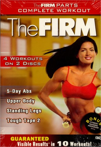 The Firm - 5 Days Abs / Upper Body / Tough Tape 2 / Standing Legs (Boxset) DVD Image