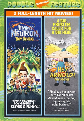 Jimmy Neutron - Boy Genius/hey Arnold! - The Movie (Double Feature) DVD Image