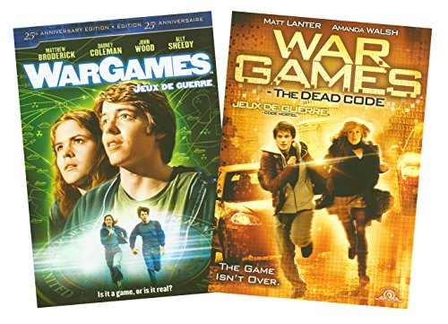 Wargames / Wargames: The Dead Code (Double Feature Pack) DVD Image