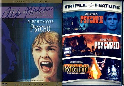 Psycho (Alfred Hitchcock Collection)/Psycho 2/Psycho 3/Psycho 4 (Psycho Pack) DVD Image