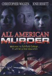 All American Murder DVD Image