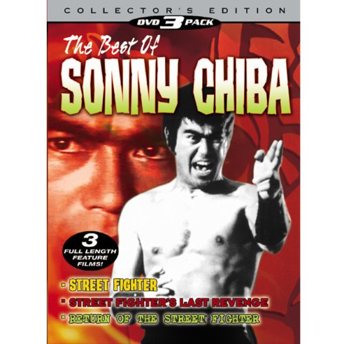 Best Of Sonny Chiba: Street Fighter / The Street Fighter's Last Revenge / Return Of The Street Fighter DVD Image