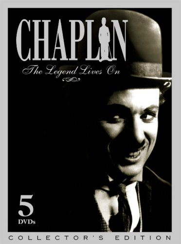 Chaplin: The Legend Lives On (5-Disc): Caught In A Cabaret / Mabel's Busy Day / Masquerader / Rounders / In The Park / ... DVD Image