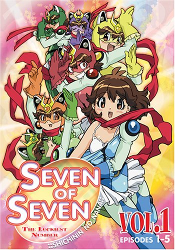Seven Of Seven (NaNa 7 Of 7) #1: Luckiest Number (Episodes 1 - 5) DVD Image