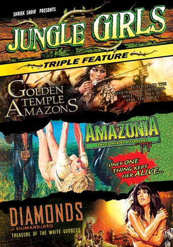 Jungle Girls Triple Feature DVD Image