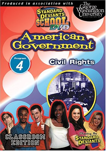 Standard Deviants: American Government 04: Civil Rights DVD Image