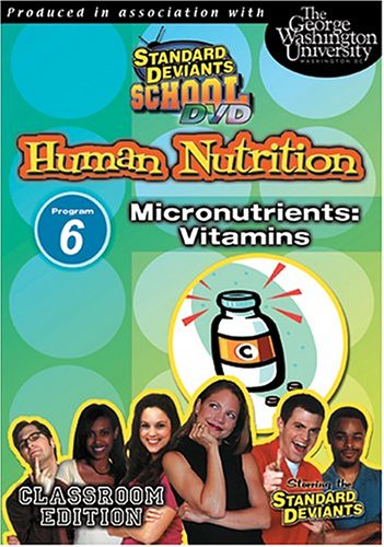 Standard Deviants: Nutrition 06: Micronutrients: Vitamins DVD Image