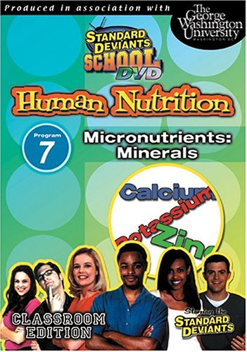 Standard Deviants: Nutrition 07: Micronutrients: Minerals DVD Image
