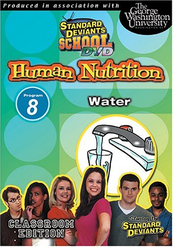 Standard Deviants: Nutrition 08: Water DVD Image
