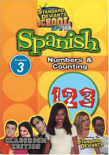 Standard Deviants: Spanish 03: Numbers And Counting DVD Image