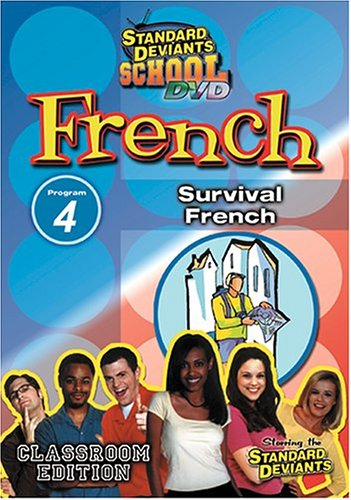 Standard Deviants: French, Program 4: Survival French DVD Image