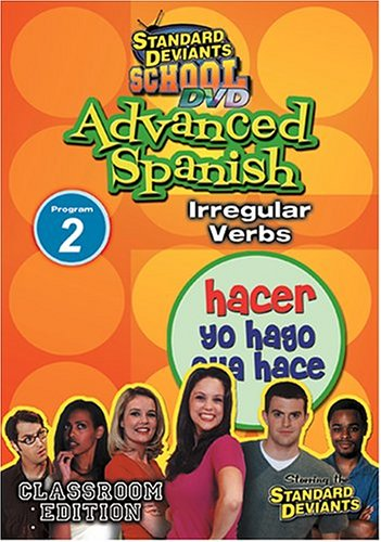 Standard Deviants: Advanced Spanish Program 2: Irregular Verbs DVD Image