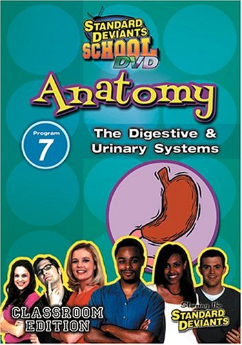 Standard Deviants: Anatomy Program 7: The Digestive And Urinary Systems DVD Image