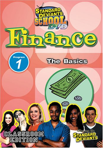 Standard Deviants School: Finance Module 01: The Basics DVD Image