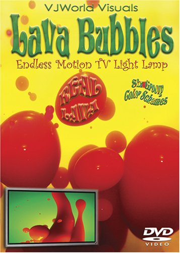 VJworld Visuals: Lava Bubbles Tv Light Lamp DVD Image