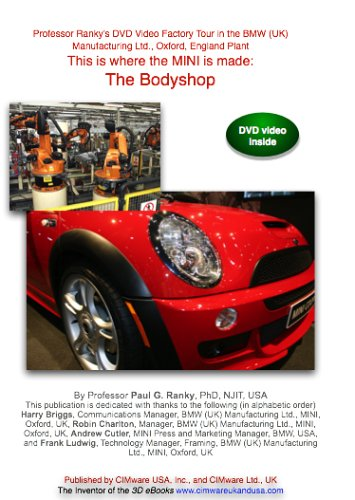 This Is Where The MINI Is Made: The Bodyshop: A Factory Tour On Video With In-Depth Discussions In The BMW MINI Oxford ... DVD Image