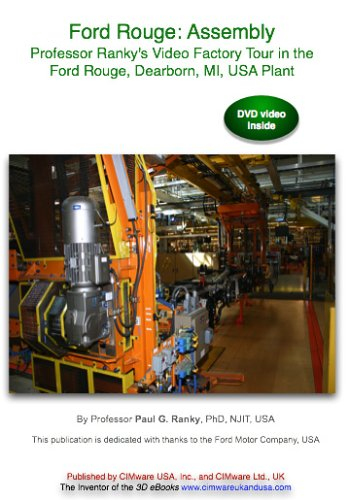 Ford Rouge: Assembly. Professor Ranky's Video Tour In The Ford Rouge, Dearborn, MI, USA Plant DVD Image