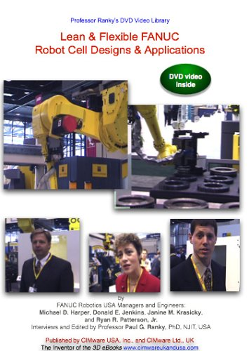 Lean & Flexible FANUC Robot Cell Designs And Applications DVD Image