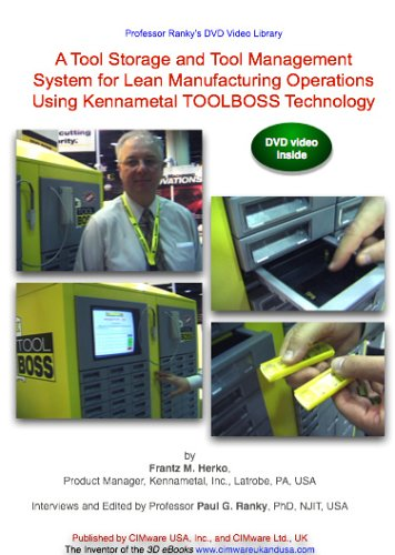 Tool Storage And Tool Management System For Lean Manufacturing Operations Using Kennametal TOOLBOSS Technology DVD Image