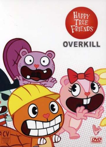 Happy Tree Friends (StudioWorks), Vol. 1 - 3: Overkill (3-Pack): First Blood / Second Serving / Thrid Strike DVD Image