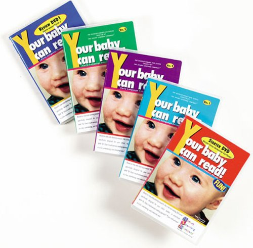 Your Baby Can Read: Set 1 DVD Image