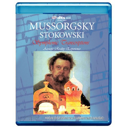 Mussorgsky: Stokowski Symphonic Transcriptions: Pictures At An Exhibition / Boris Godunov / Night On Bare Mountain (Blu-Ray) DVD Image