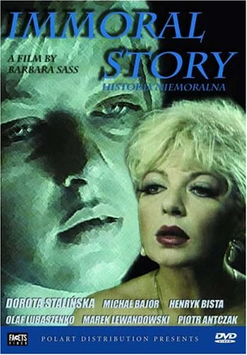 Immoral Story DVD Image
