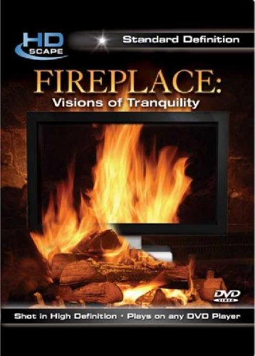 Fireplace: Visions Of Tranquility (DVD International) DVD Image
