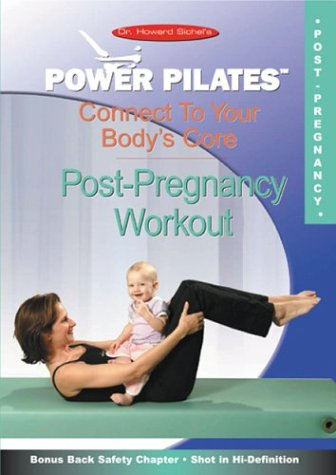 Power Pilates: Connect To Your Body's Core: Post-Pregnancy Workout DVD Image