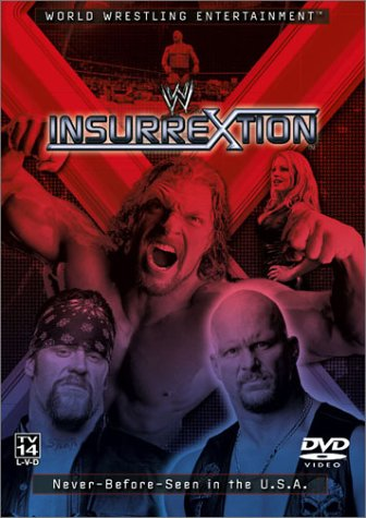WWE: Insurrextion 2002 DVD Image