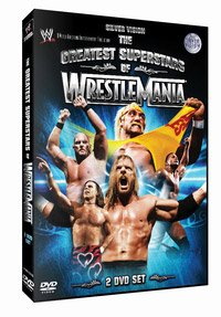 WWE: Greatest Superstars Of Wrestlemania DVD Image