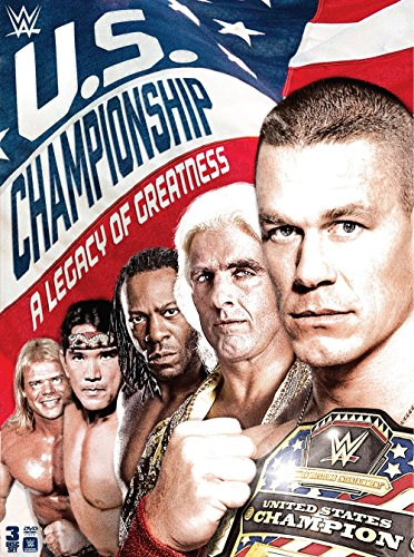 WWE: The US Championship: A Legacy of Greatness Season 1 Season 1 DVD Image